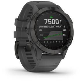 Garmin Fenix 6 Pro Solar GPS Smartwatch, black/slate grey